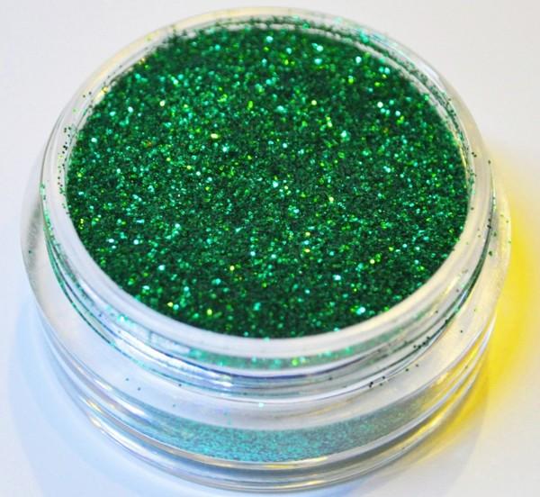 Glitter dunkel grün XXL Studio Größe
