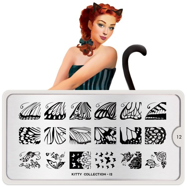 MoYou London Stempel Schablone Motiv:Kitty #12