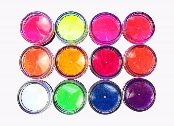 12 Neon Pigmente