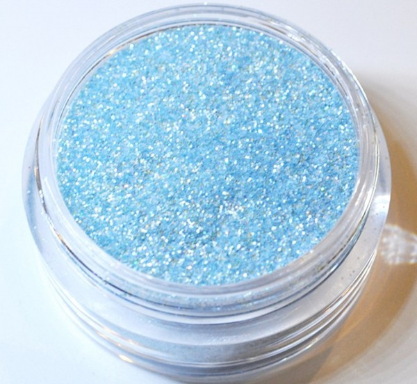 Glitter ice blau XXL Studio Größe
