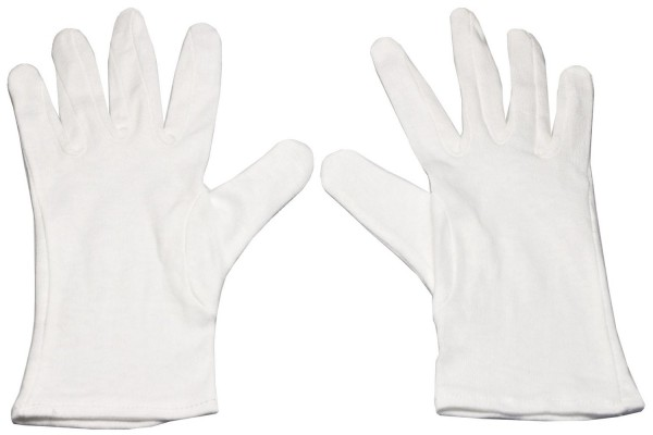 Baumwoll unterzieh Handschuhe Gr. S