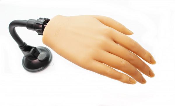 Silikonhand Übungshand #01 mit biegsamen Finger sehr realstisch für Nageldesign