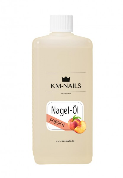500ml Nagelöl Pfirsich super Duft und Pflege