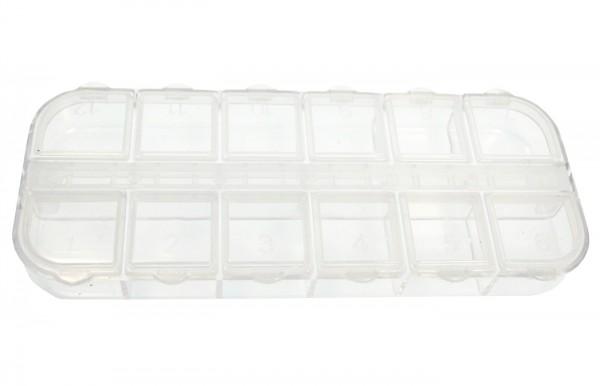 Nailart Box mit 12 Fächern