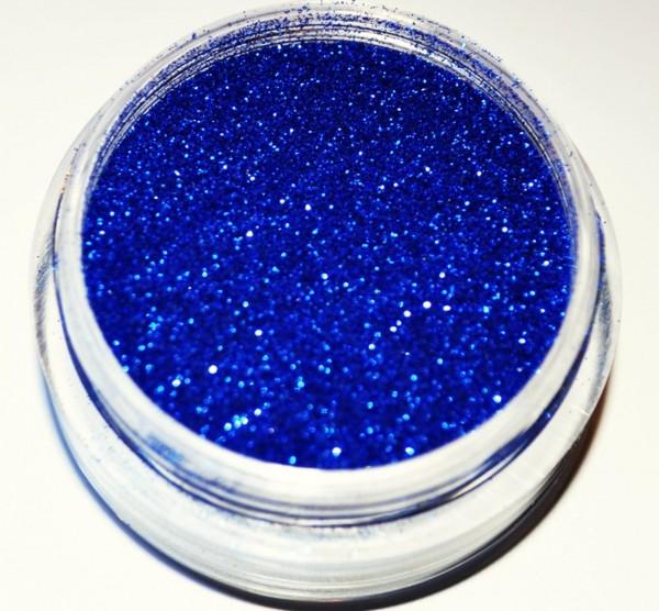 Puder Glitter dunkel blau Studio Größe