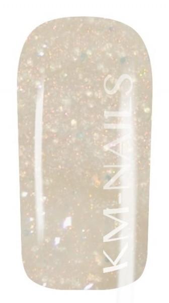 5ml Colorgel #12 white/gold glitter shine High Line Gel