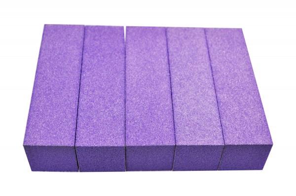 5 lila Buffer abwaschbar + Desinfizierbar