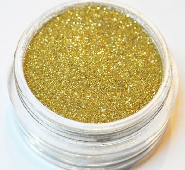 Puder Glitter gold XXL Studio Größe