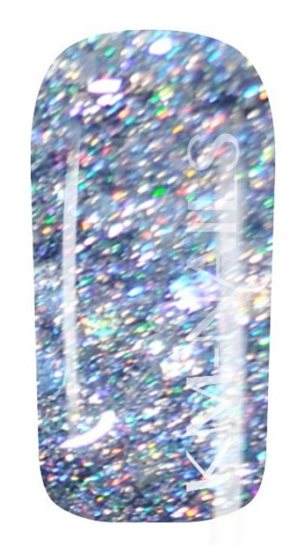 5ml Colorgel #87 silver disco mix High Line Gel