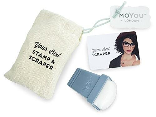 MoYou Premium Stamping Stempel mit Schaber