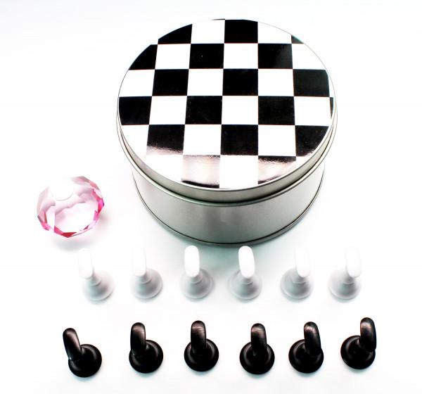 Präsentationsdisplay Schachbrett magnetisch