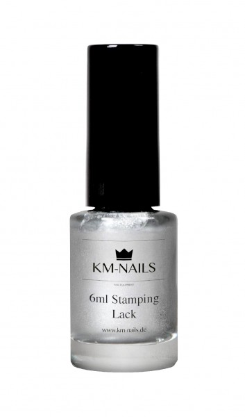 6ml Stamping Lack silber