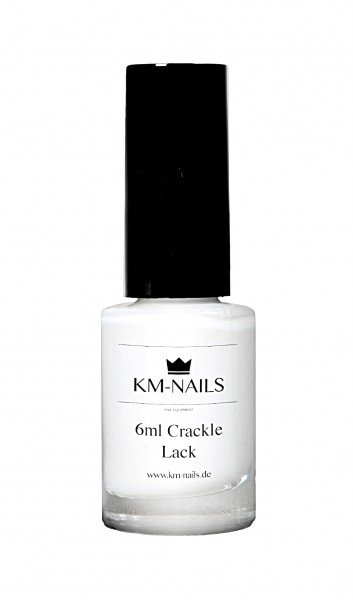 6ml Crackle Lack weiß
