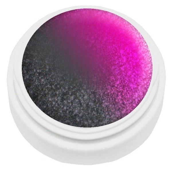 5ml Thermogel schwarz/pink met. LED&UV härtend