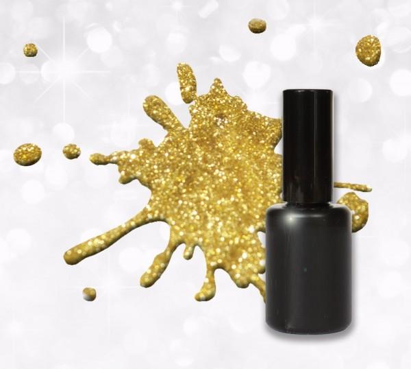 15ml UV Polish Gel gold Glitter