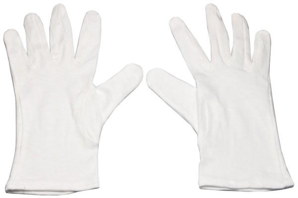 Baumwoll unterzieh Handschuhe Gr. L