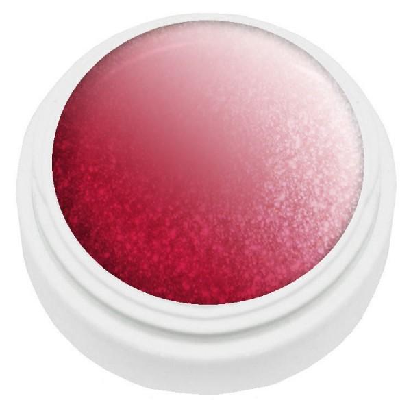 5ml Thermogel rot/rosa met. UV und LED härtend