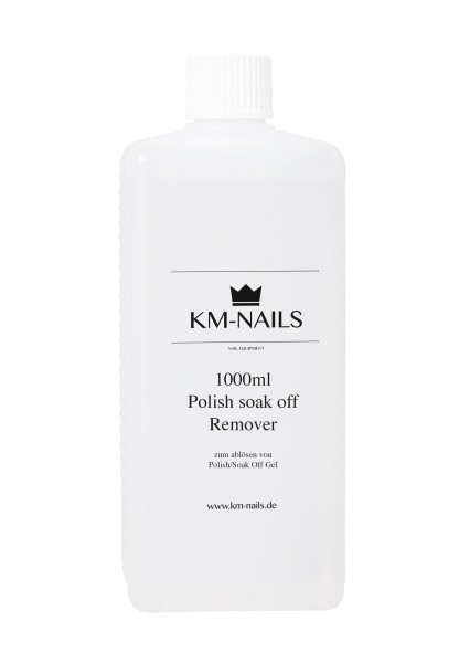 1000ml UV Polish soak off remover (löser)