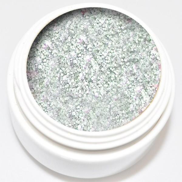 5 ml Diamant Glitter Gel silber