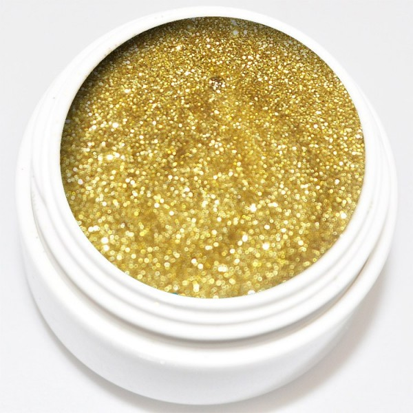 5 ml Glitter Gel gold