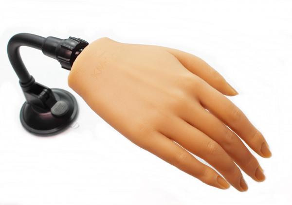 Silikonhand Übungshand #02 mit biegsamen Finger sehr realstisch für Nageldesign