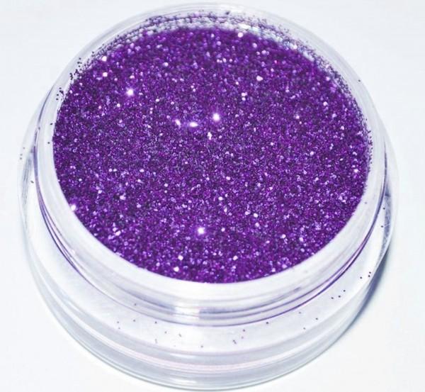 Glitter metallic dunkel lila XXL Studio Größe