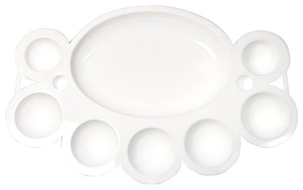 Mischplatte in weiß