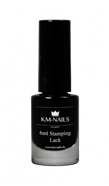 6ml Stamping Lack schwarz