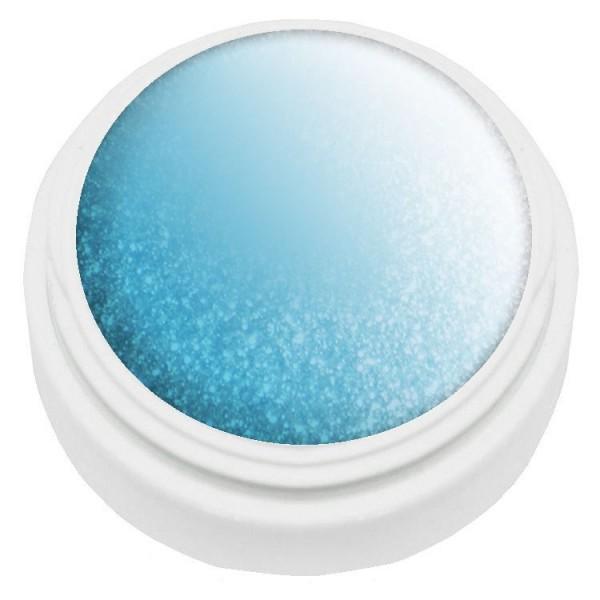 5ml Thermogel türkis /weiß met. LED und UV härtend